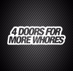 4 doors for more whores/ 4 двери для ...