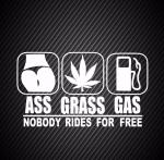 Ass grass gas