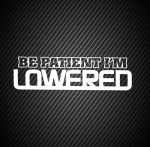 Be Patient i'm Lowered / Будь терпеливей...