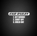 Car rules / Правила автомобиля