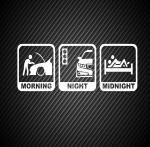 Morning Night Midnight / Утро, ночь, полночь