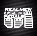 Real man use 3 pedals / Правильный мужчина использует 3 педали