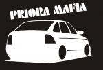 Наклейка на авто Приора мафия