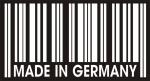 Наклейка на авто Сделано в Германии
