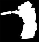 Наклейка на авто Снайпер 2