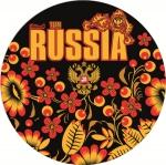 Наклейка Россия Хохлома