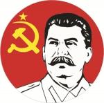Наклейка Сталин