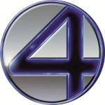 Наклейка эмблема Fantastic Four (Фантастическая четвёрка)