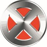 Наклейка эмблема X-man (Люди Икс)
