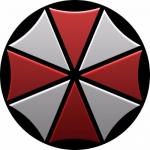 Наклейка эмблема Umbrella (Корпорация Амбрелла)