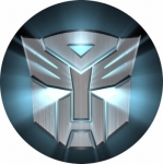 Наклейка эмблема Transformers (Трансформеры)