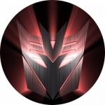 Наклейка эмблема Decepticons (Десептиконы)