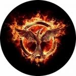 Наклейка эмблема Mockingjay (Сойка пересмешница)