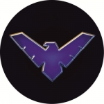 Наклейка Nightwing (Найтвинг)