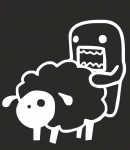 Домо кан с овечкой/Domo Kun love sheep