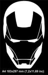 Маска Железный человек / Iron man