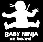 Ребёнок ниндзя в машине / Baby ninja on board