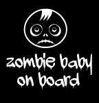Зомби ребёнок в машине