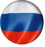 Наклейка Флаг России