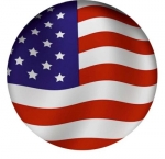 Наклейка Флаг США