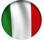 Наклейка Флаг Италия