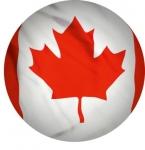 Наклейка Флаг Канада