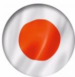 Наклейка Флаг Япония