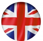 Наклейка Флаг Великобритания