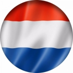 Наклейка Флаг Нидерланды