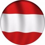 Наклейка Флаг Австрия