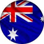 Наклейка Флаг Австралия