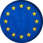 Наклейка Флаг Евросоюз