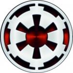 Наклейка Логотип Galactic empire / Галактическая империя