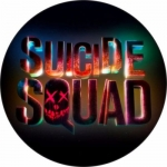 Наклейка Логотип Suicide Squad 1 / Отряд самоубийств