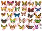 Лист с наклейками Бабочки 2