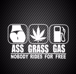 Ass grass gas