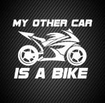 My other car is a bike
