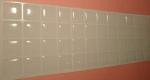 Силиконовые наклейки  на клавиатуру прозрачный фон белые буквы