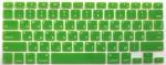 Накладка силиконовая салатовая с латиницей и кириллицей для Mac