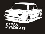 Наклейка на авто Седан Синдикат