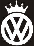 Наклейка на авто VW King