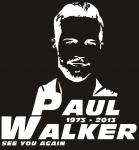 Наклейка на авто Paul waker