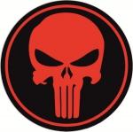 Наклейка Punisher (Каратель)