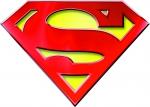 Наклейка эмблема Superman (Супермен)