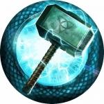 Наклейка эмблемаThor (Тор)