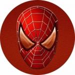 Наклейка эмблема Spider man (Человек паук)