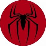 Наклейка эмблема Spider man 2 (Человек паук 2)