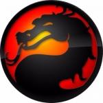 Наклейка эмблема Mortal Komban (Мортал комбат)