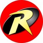 Наклейка эмблема Robin (Робин)