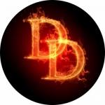 Наклейка эмблема Daredevil (Сорвиголова)